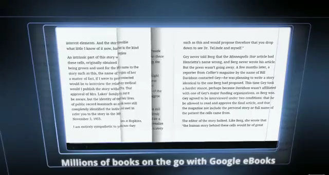 googlebooks2 CES dumps Six Foot Deep Drifts of Ebook Reader Products